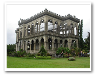 The Ruins, Bacolod City resorts, hotels tour packages, holidays guide